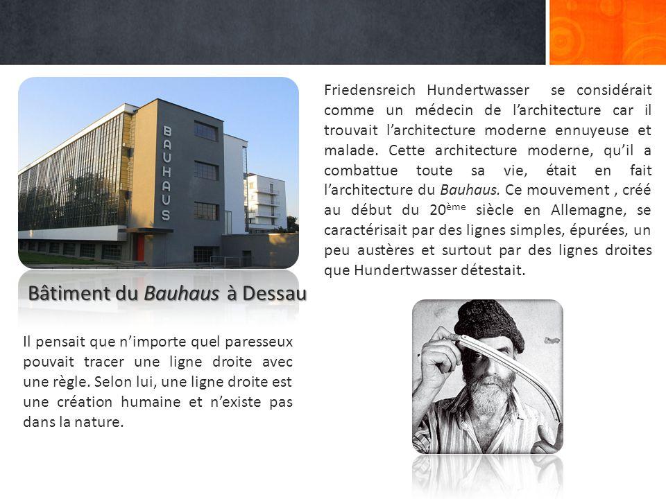 Bâtiment du Bauhaus à Dessau