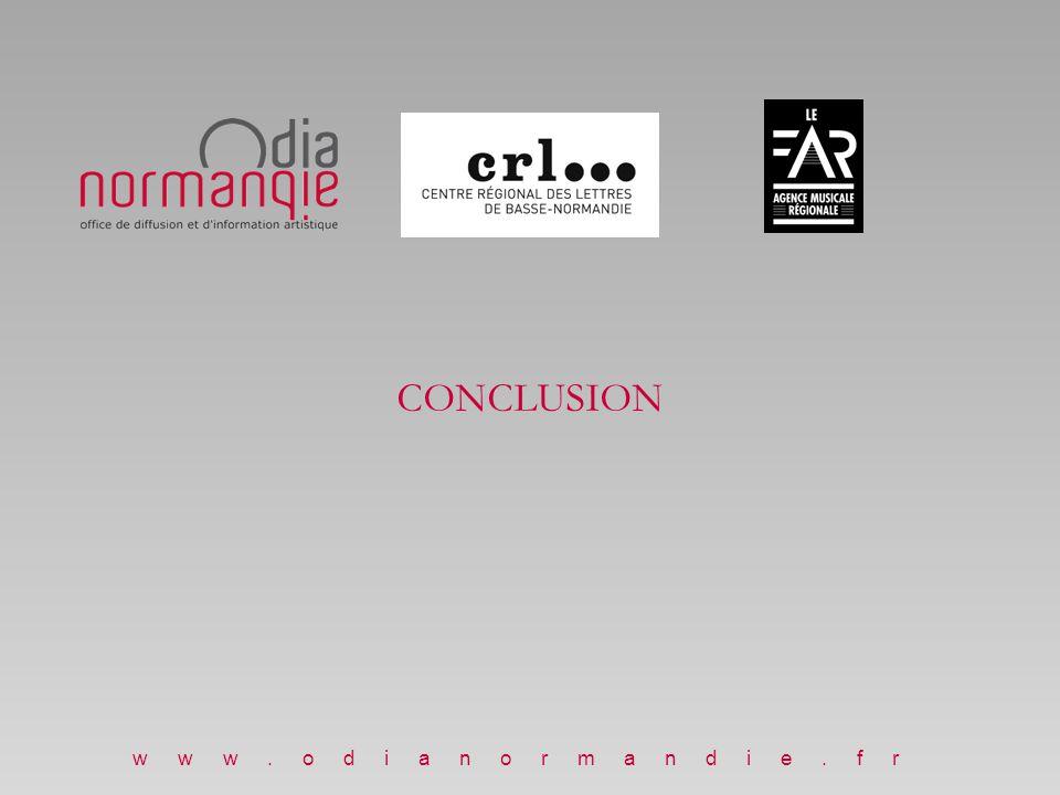 CONCLUSION Nicolas Etienne www.odianormandie.fr www.odianormandie.fr