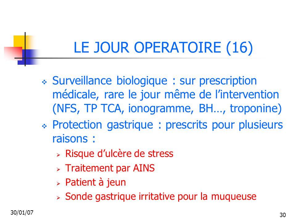 LE JOUR OPERATOIRE (16)