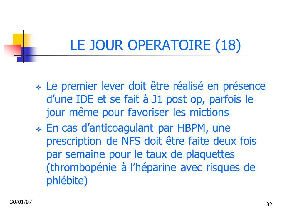 LE JOUR OPERATOIRE (18)