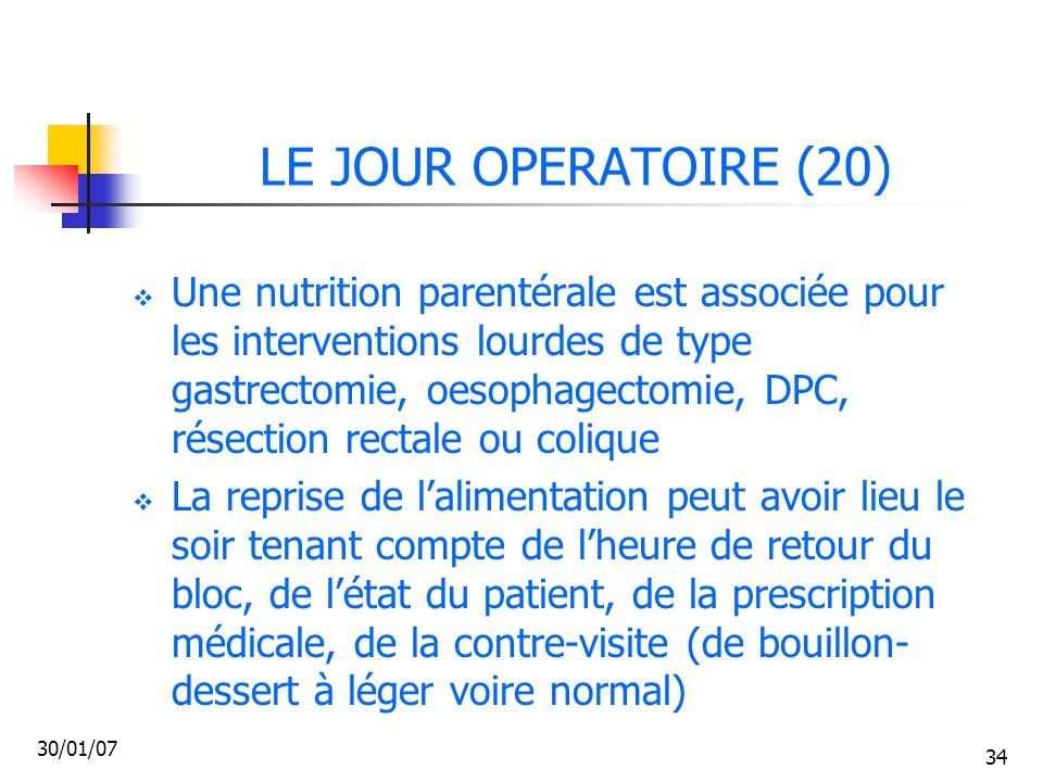LE JOUR OPERATOIRE (20)
