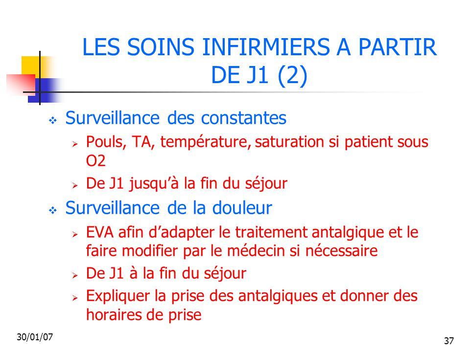 LES SOINS INFIRMIERS A PARTIR DE J1 (2)