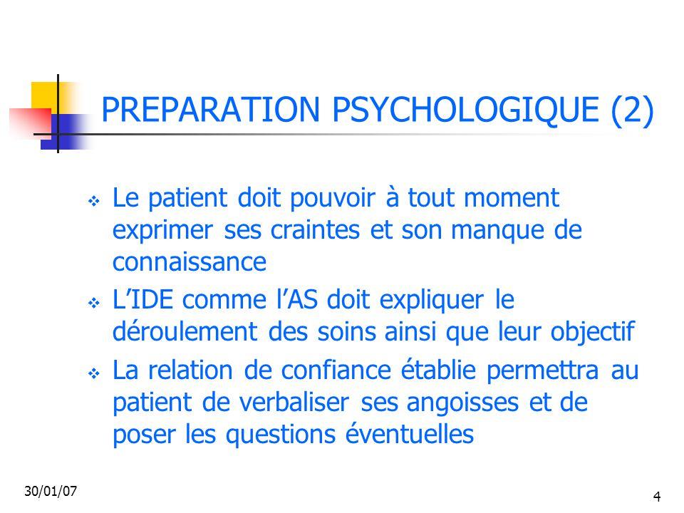 PREPARATION PSYCHOLOGIQUE (2)