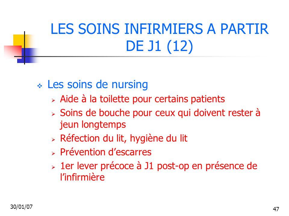 LES SOINS INFIRMIERS A PARTIR DE J1 (12)