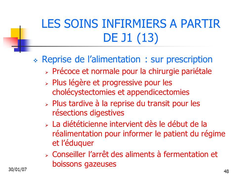 LES SOINS INFIRMIERS A PARTIR DE J1 (13)
