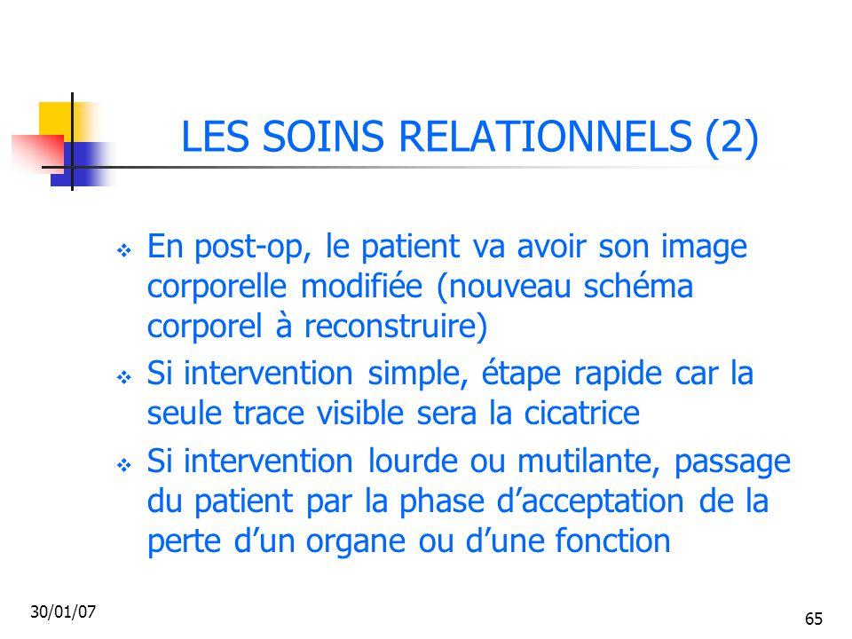 LES SOINS RELATIONNELS (2)