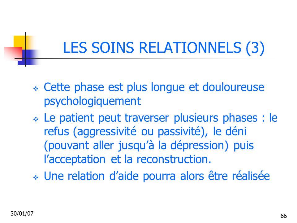 LES SOINS RELATIONNELS (3)