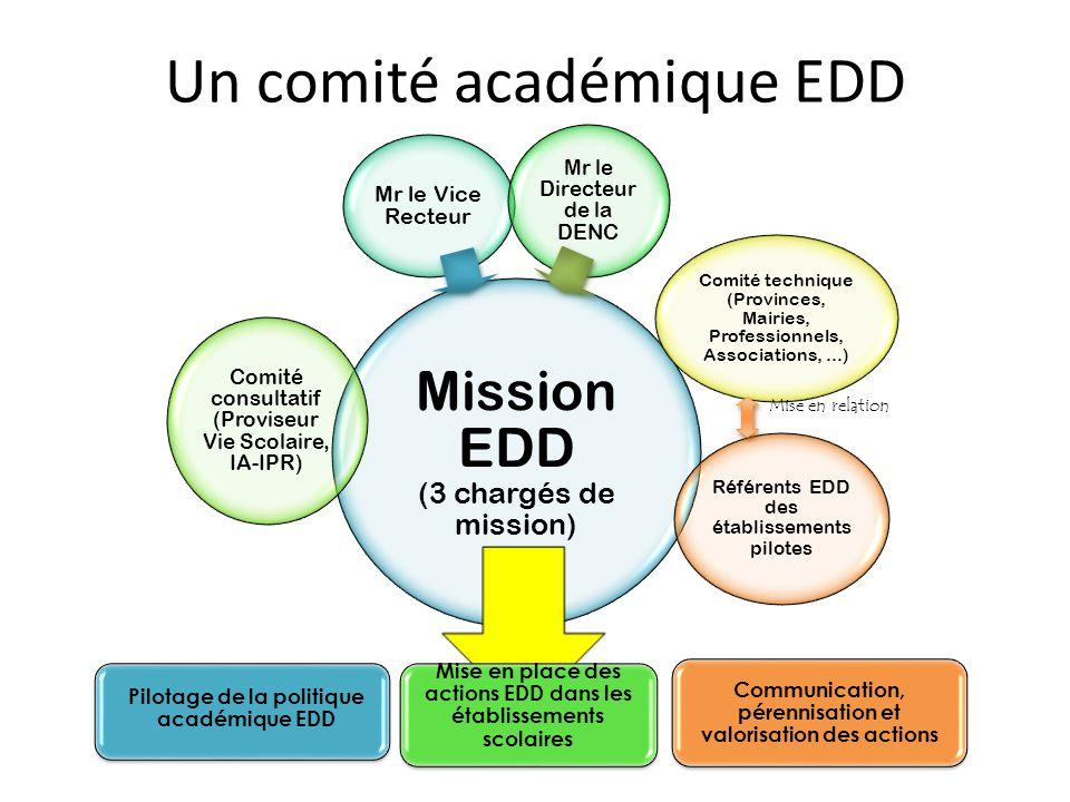 Un comité académique EDD