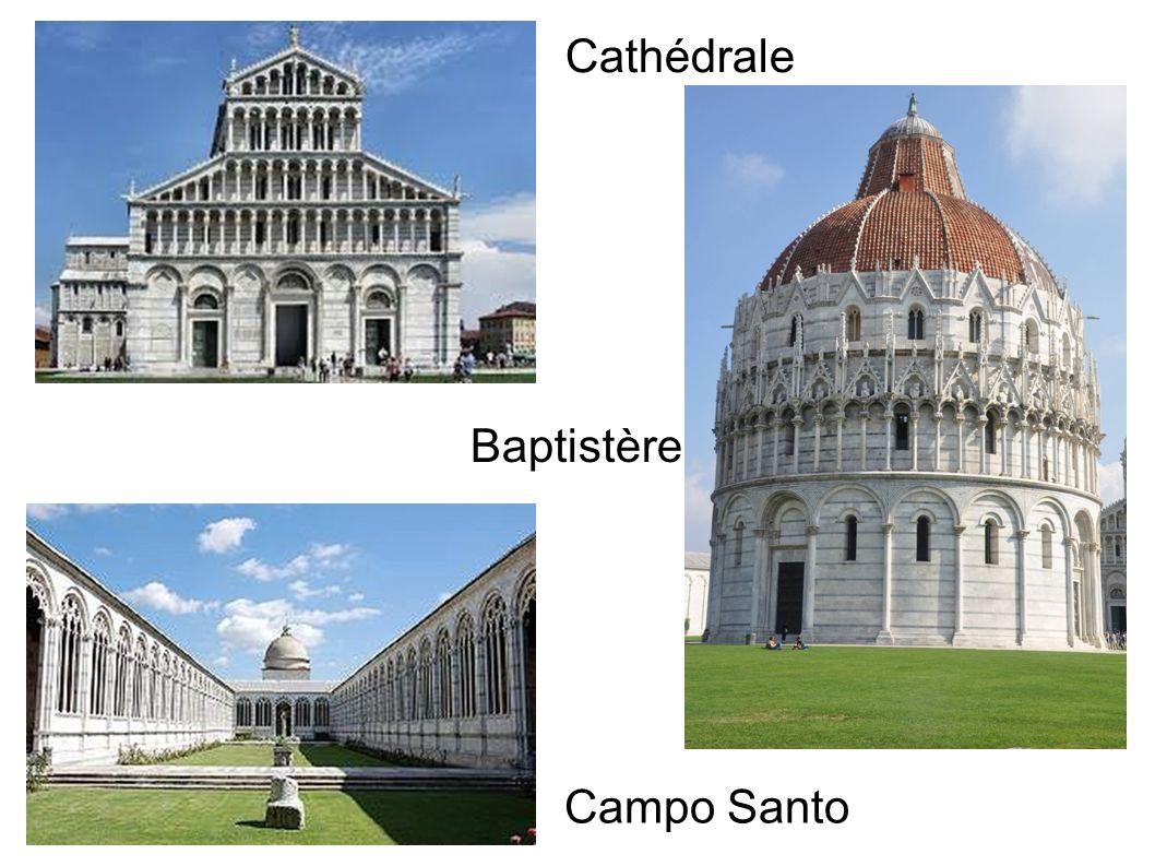 Cathédrale Baptistère Campo Santo