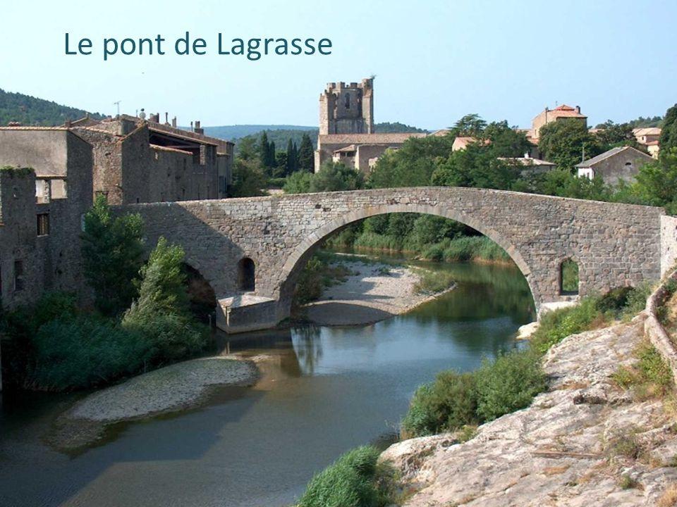 Le pont de Lagrasse Le pont de Lagrasse