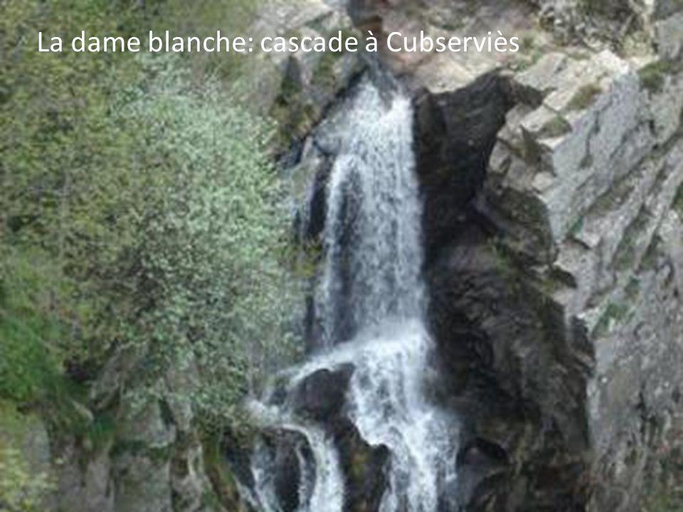 La dame blanche: cascade à Cubserviès