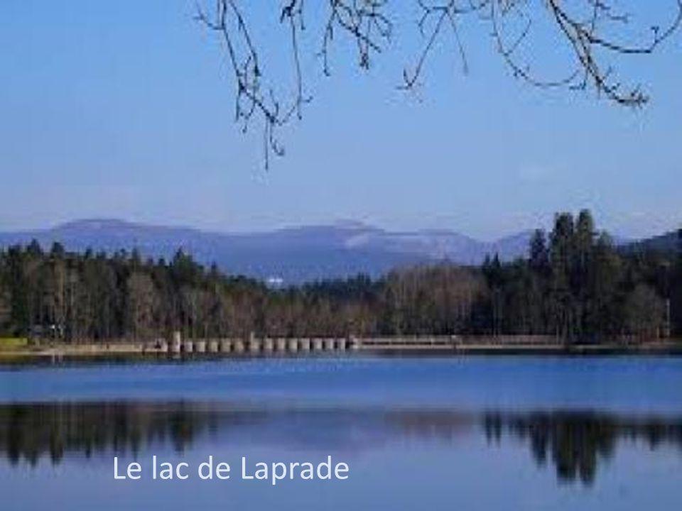 Le lac de Laprade Le lac de Laprade