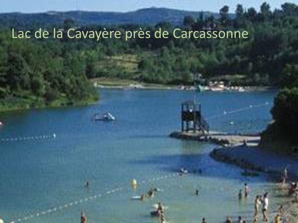 Lac de la Cavayère près de Carcassonne