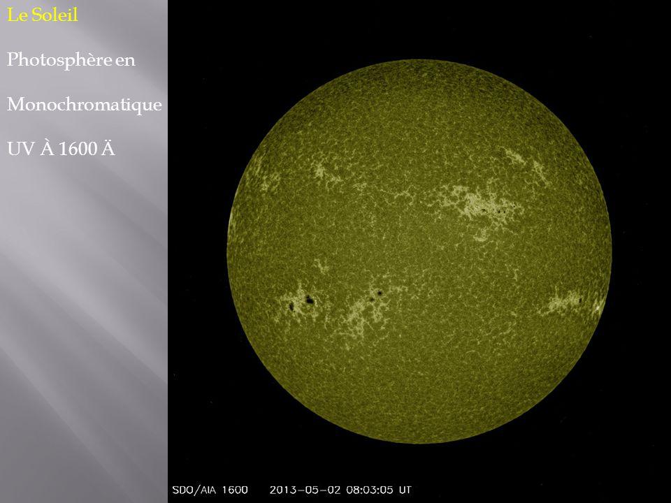 Le Soleil Photosphère en Monochromatique UV À 1600 Ä