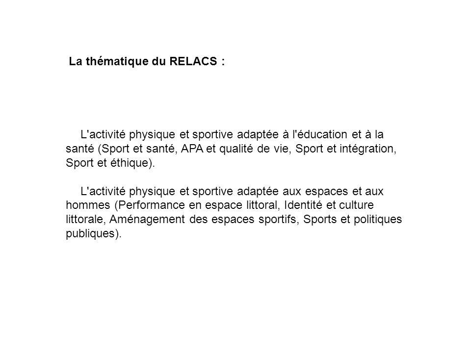 La thématique du RELACS :