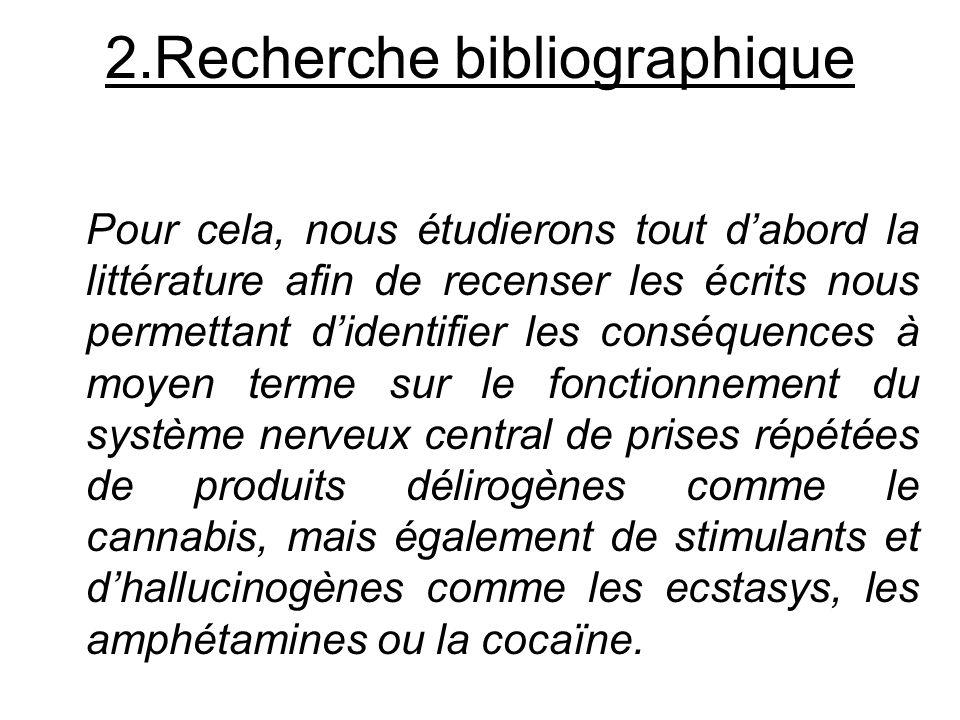 2.Recherche bibliographique