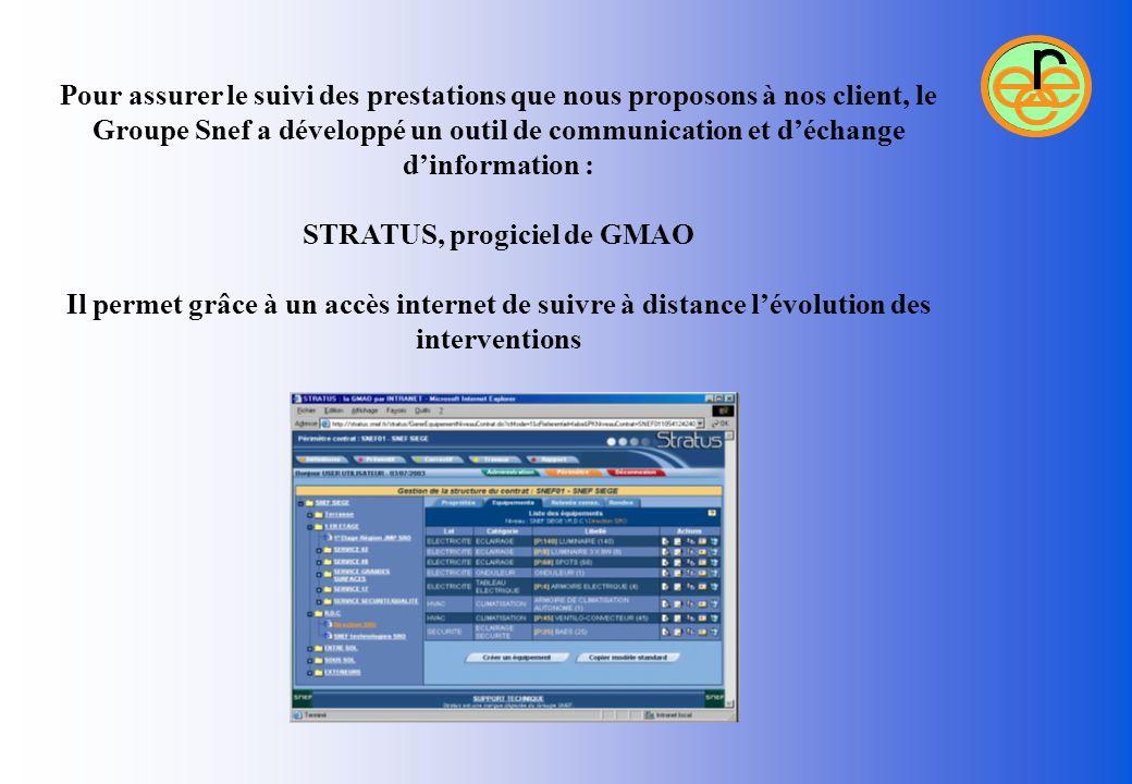 STRATUS, progiciel de GMAO