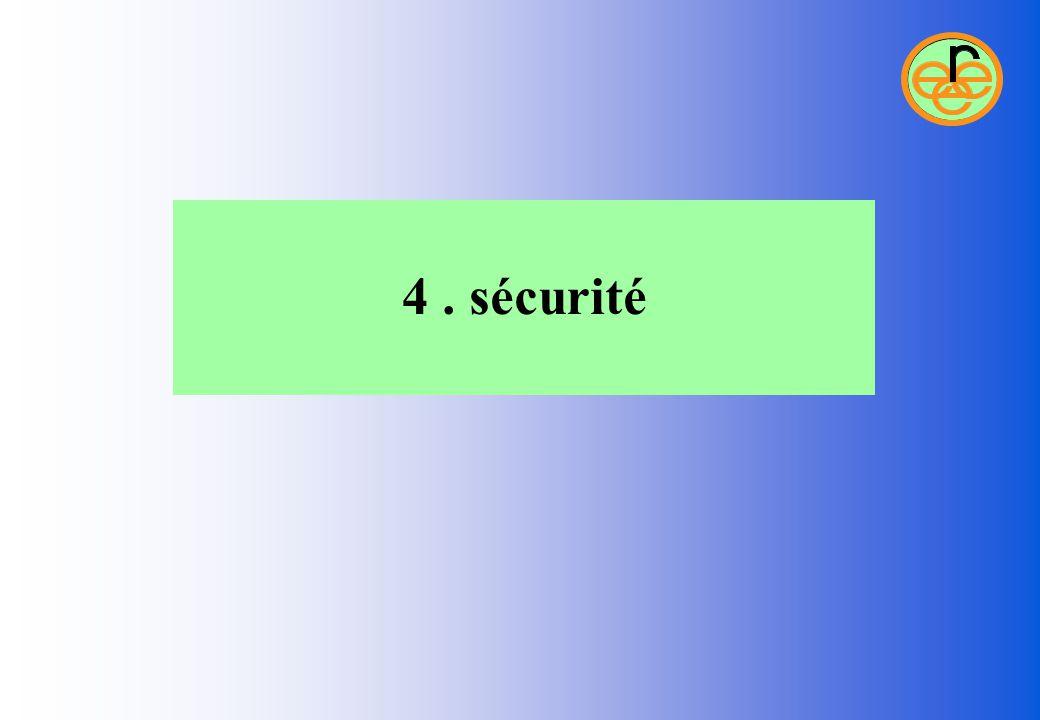4 . sécurité