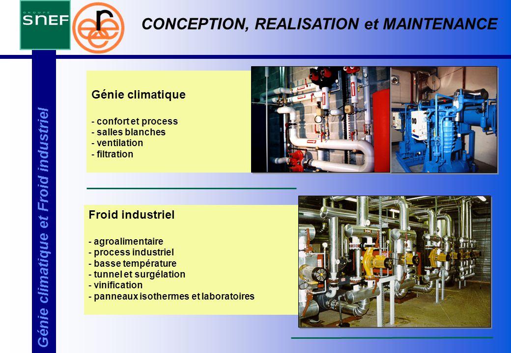 CONCEPTION, REALISATION et MAINTENANCE