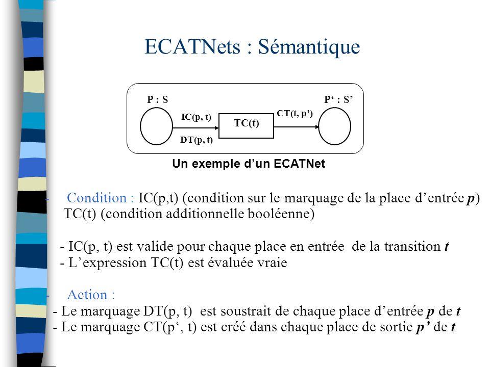 Un exemple d'un ECATNet