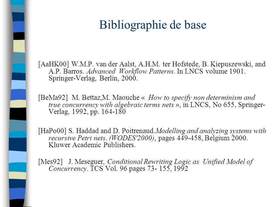 Bibliographie de base