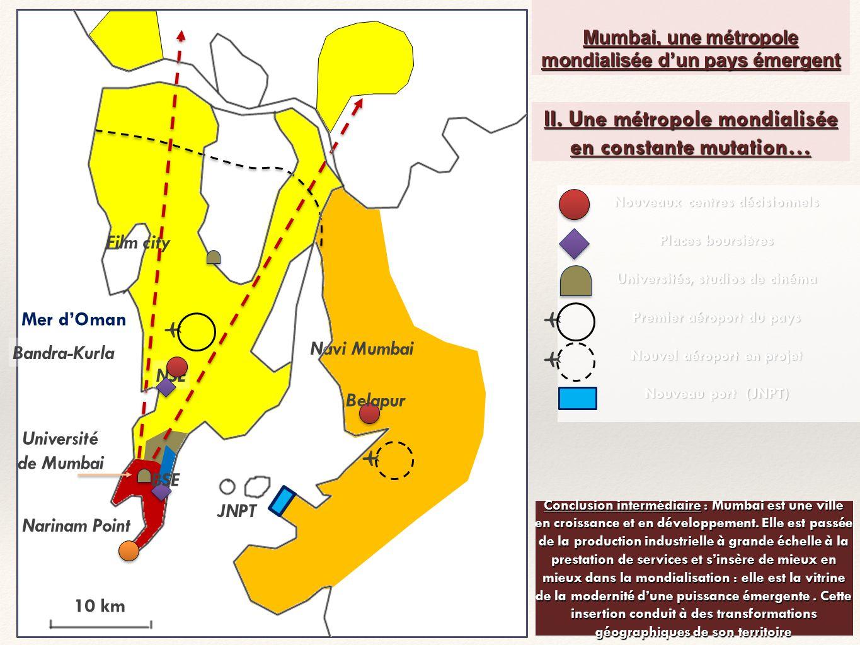 II. Une métropole mondialisée en constante mutation…