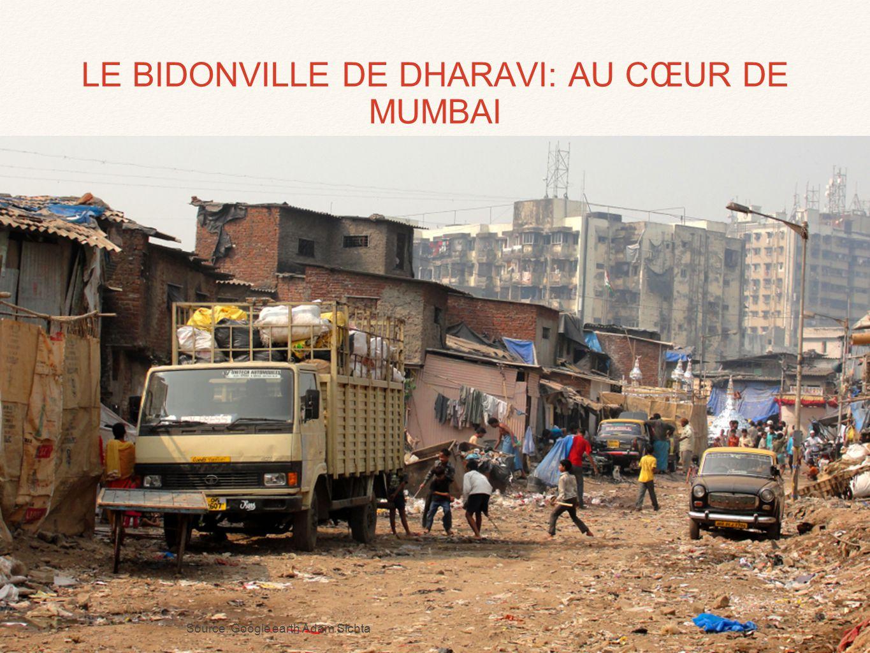 LE BIDONVILLE DE DHARAVI: AU CŒUR DE MUMBAI