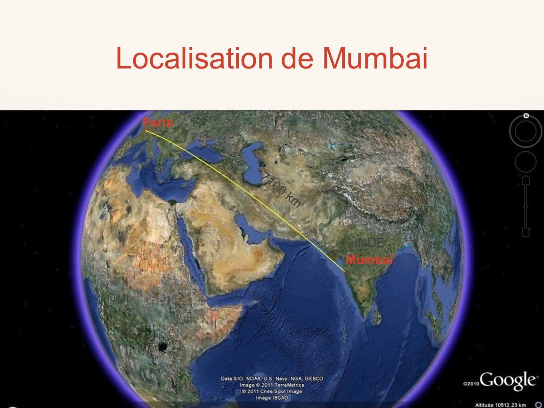Localisation de Mumbai