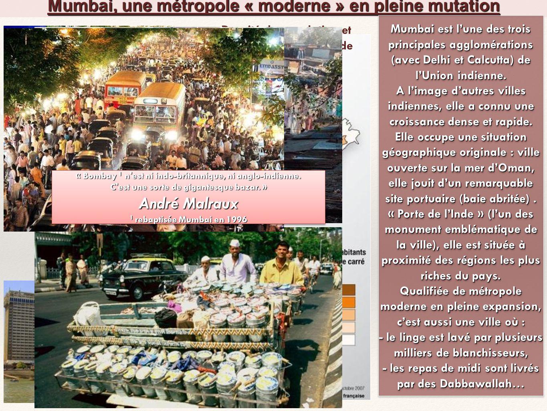 Mumbai, une métropole « moderne » en pleine mutation