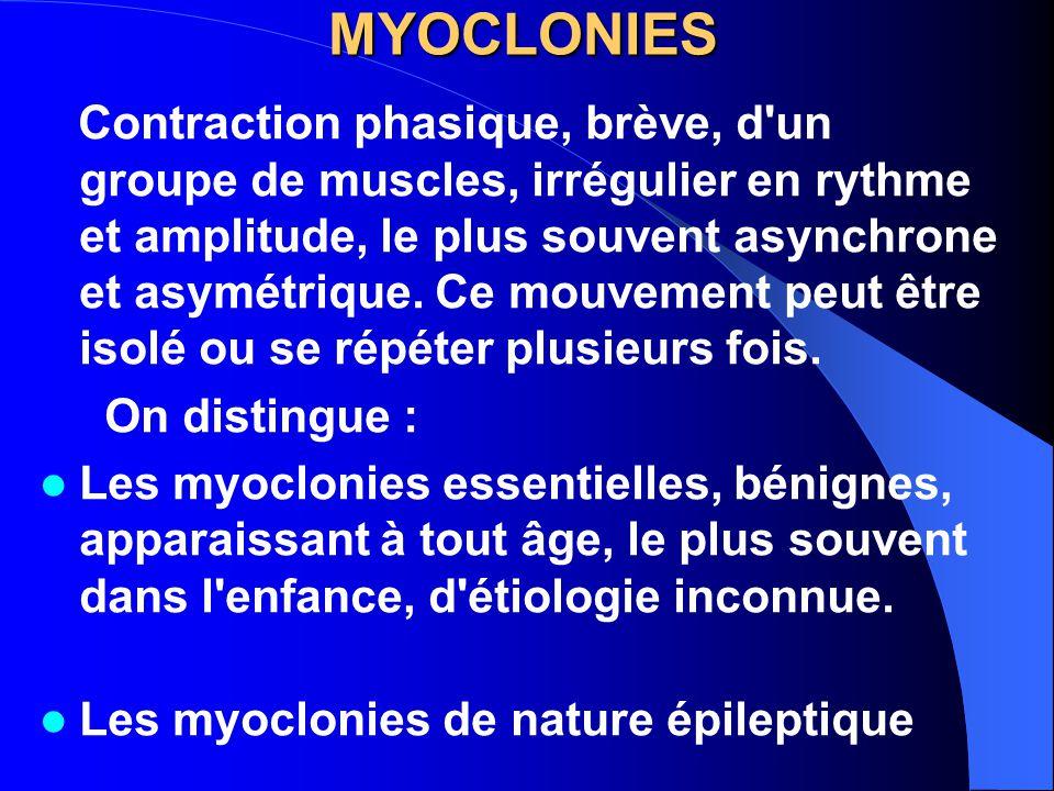 MYOCLONIES