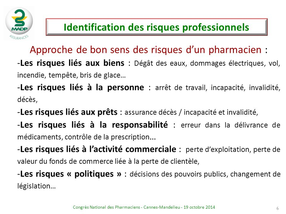 Identification des risques professionnels
