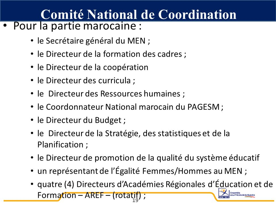 Comité National de Coordination