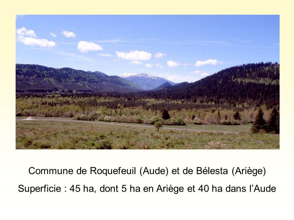 Commune de Roquefeuil (Aude) et de Bélesta (Ariège)