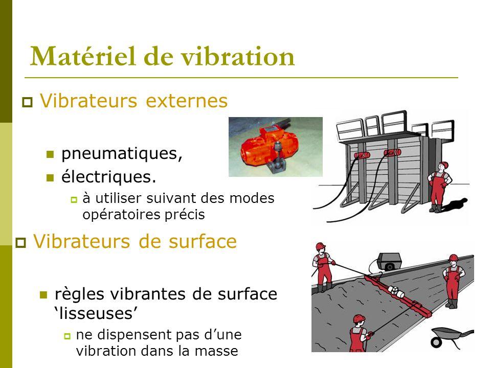 Matériel de vibration Vibrateurs externes Vibrateurs de surface