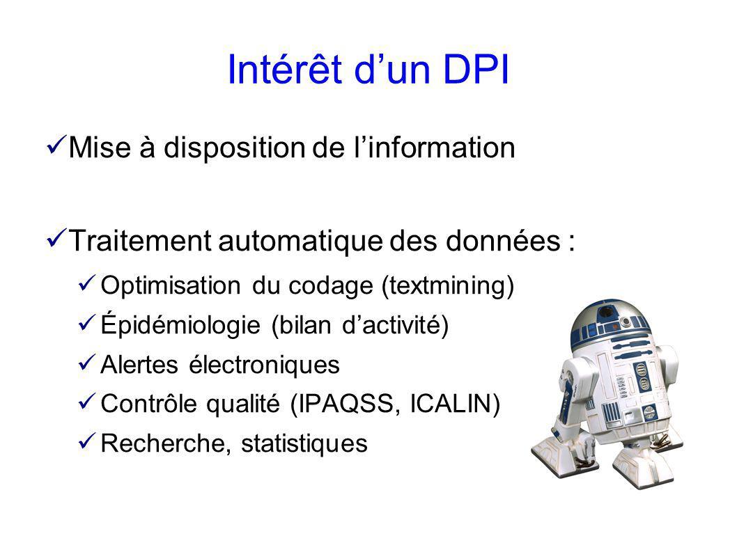 Intérêt d'un DPI Mise à disposition de l'information