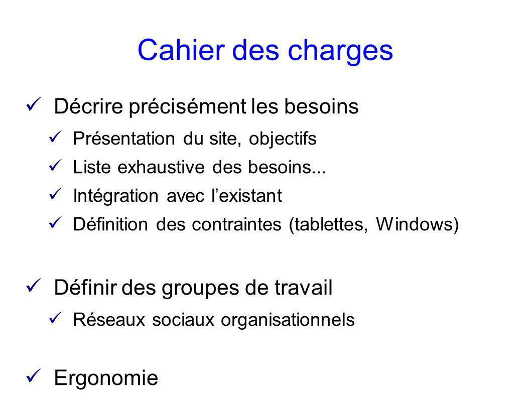 Du cahier des charges au d ploiement ppt t l charger - Cahier des charges definition ...