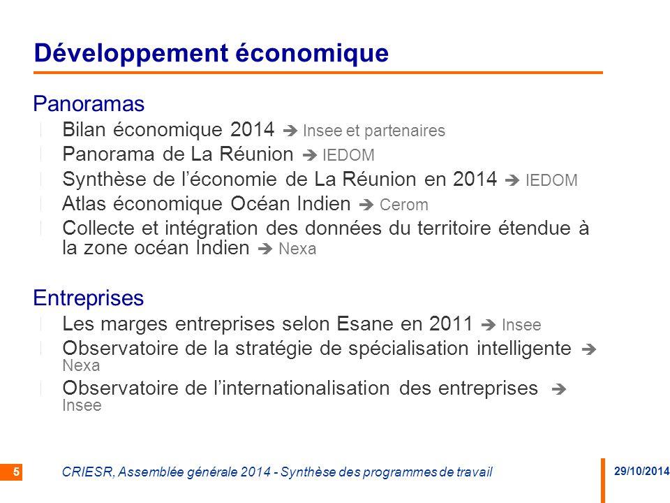 Développement économique