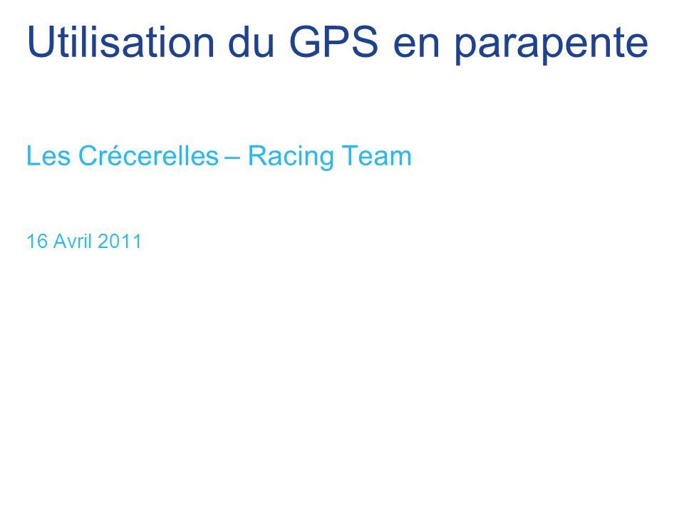 Utilisation du GPS en parapente