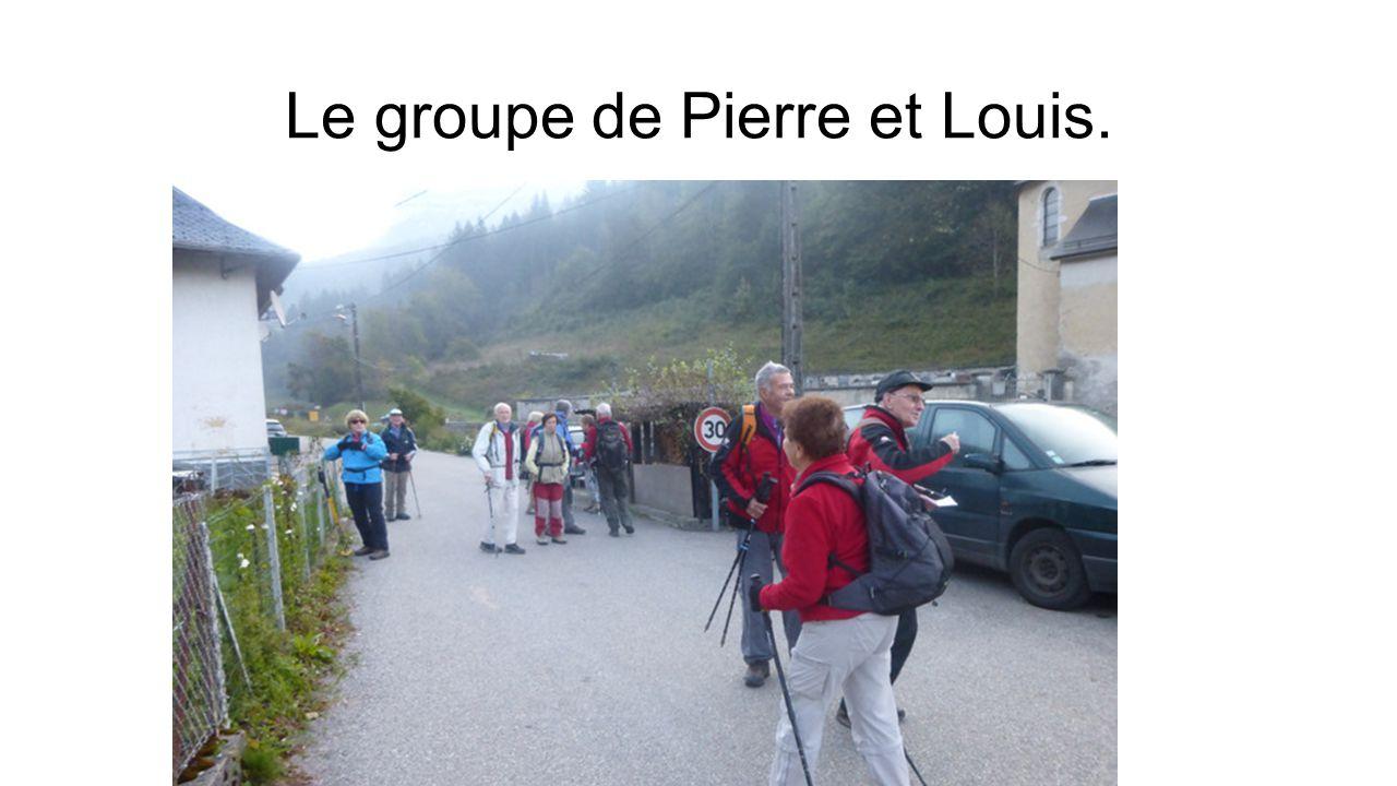 Le groupe de Pierre et Louis.