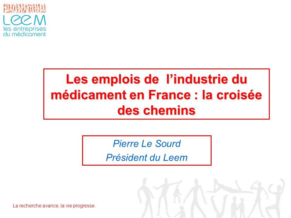 Pierre Le Sourd Président du Leem