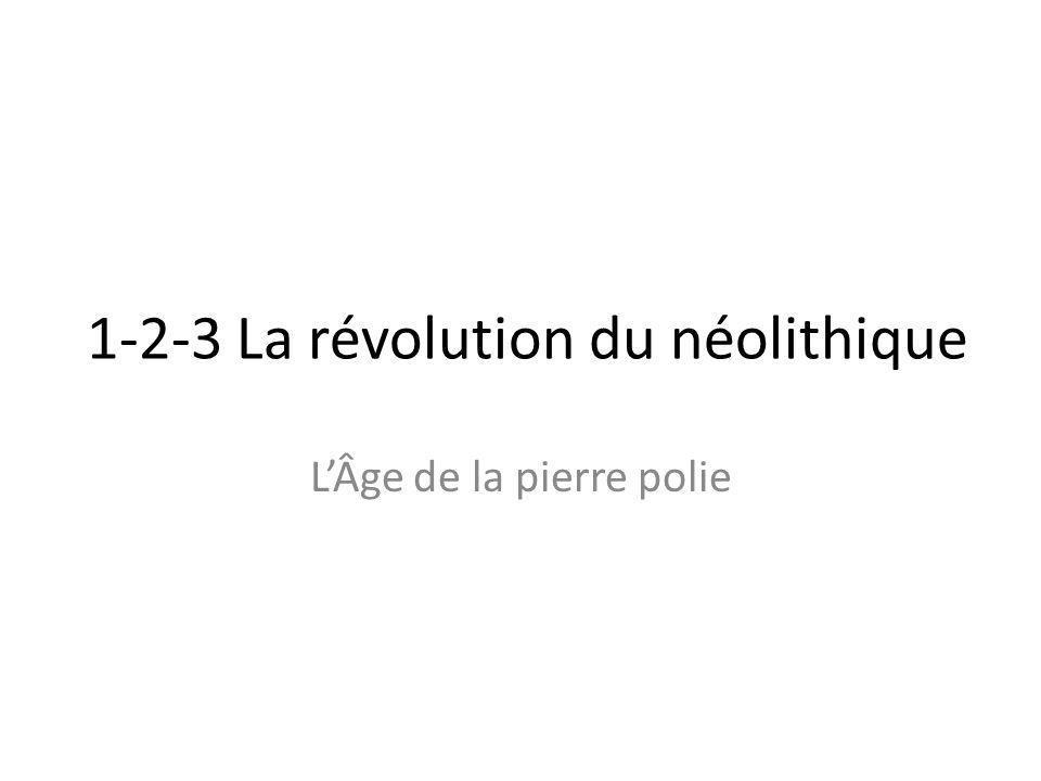 1-2-3 La révolution du néolithique