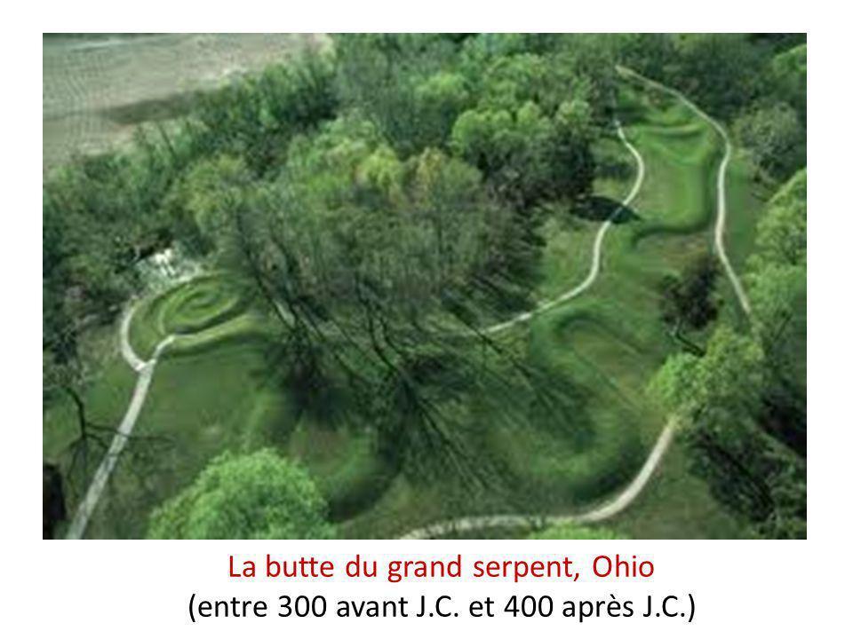 La butte du grand serpent, Ohio (entre 300 avant J. C. et 400 après J