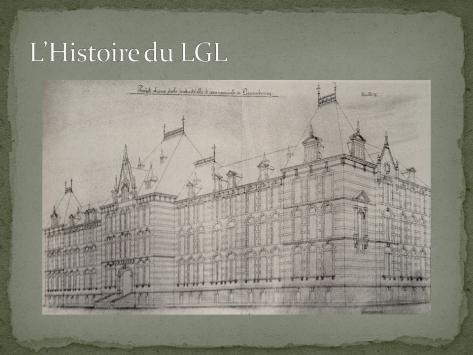 L'Histoire du LGL Proposition van Werveke
