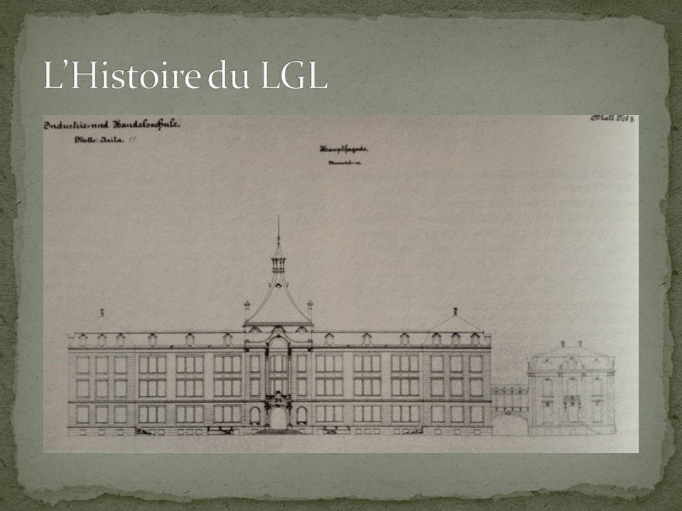 L'Histoire du LGL Van Werveke + villa du directeur