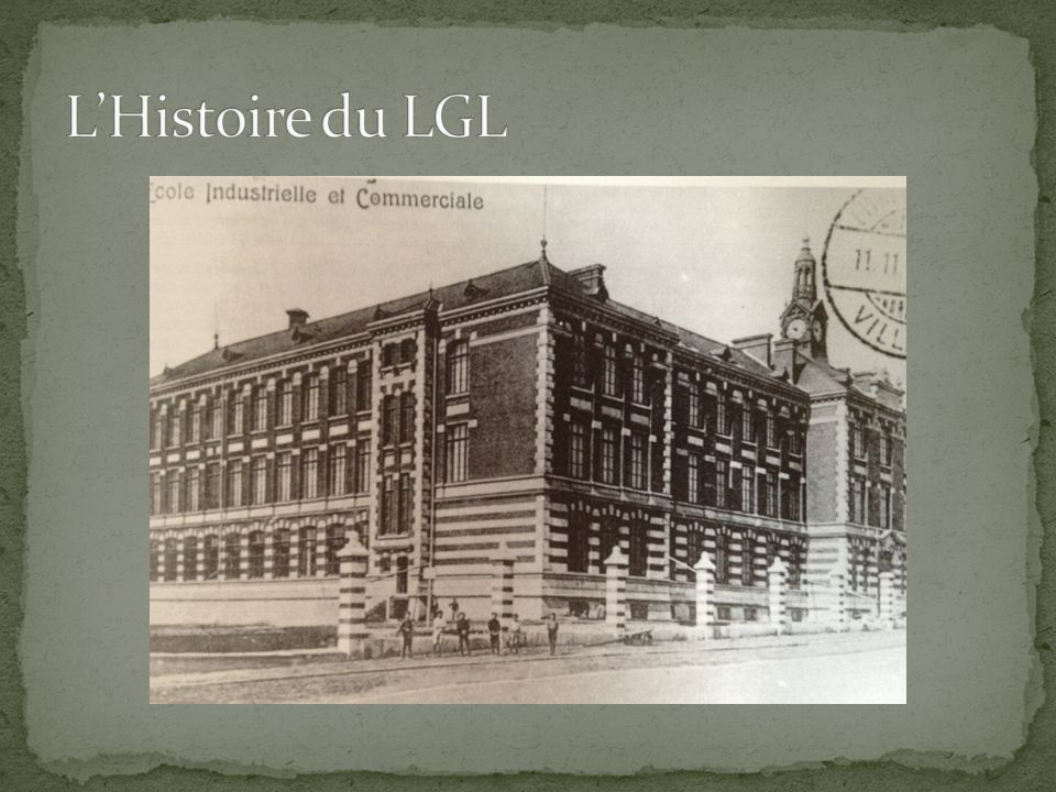 L'Histoire du LGL LGL en 1908