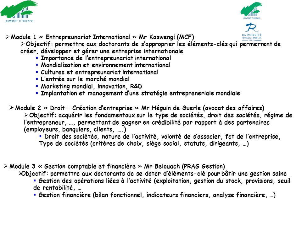 Nouveau cours : « Innover et Entreprendre »