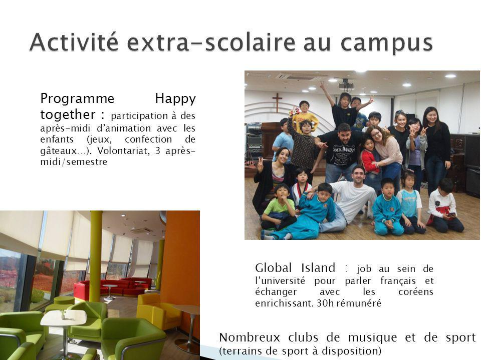 Activité extra-scolaire au campus
