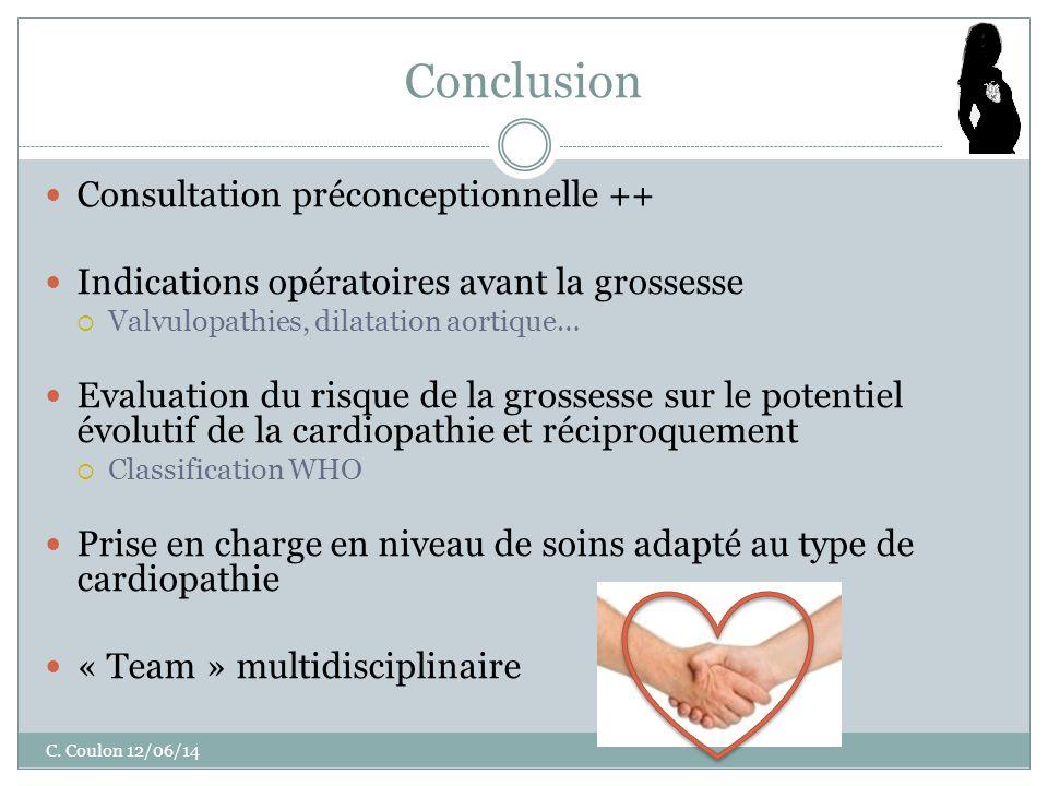 Conclusion Consultation préconceptionnelle ++