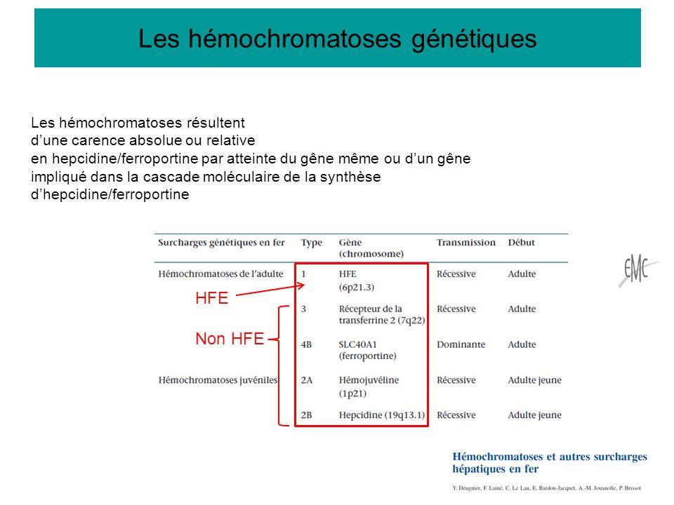 Les hémochromatoses génétiques