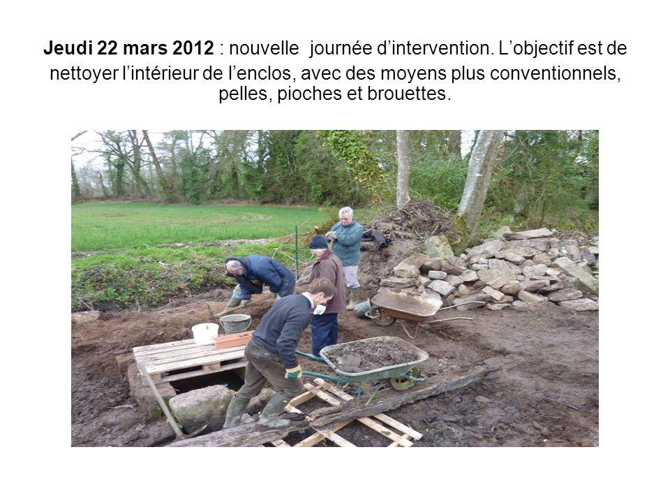 Jeudi 22 mars 2012 : nouvelle journée d'intervention